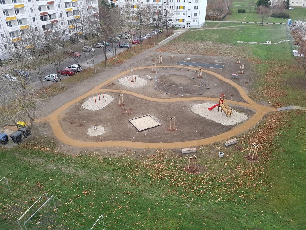 Bau Spielplatz