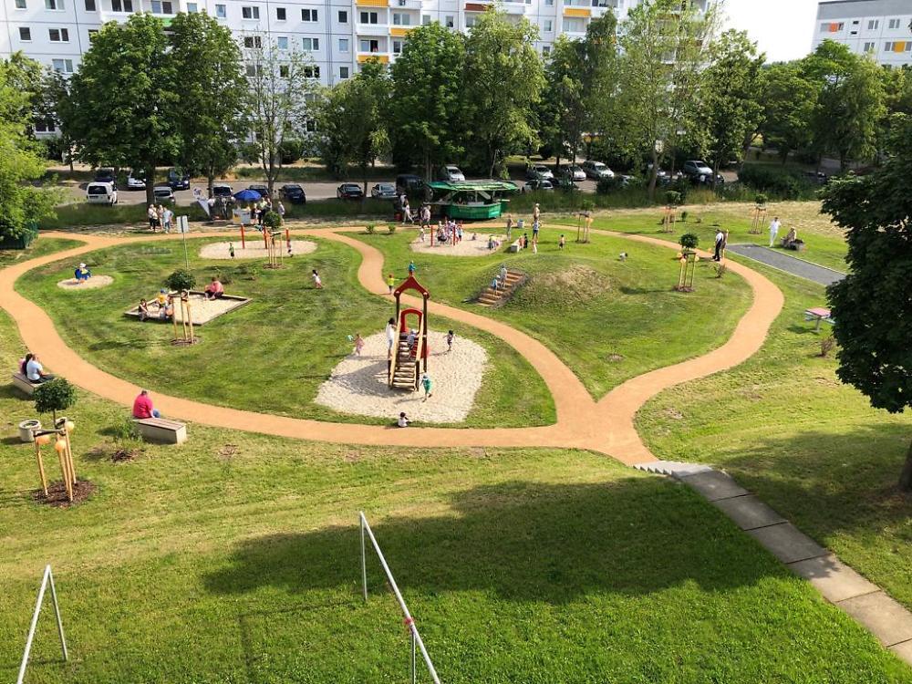 Spielplatz Raupe